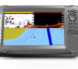HOOK2-9 SplitShot Sonda GPS Plotter Lowrance