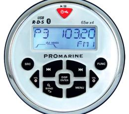 Radio Promarine blanca