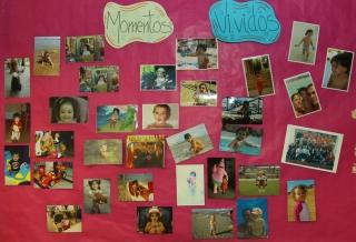 Los niños y sus familias comparten los 'Momentos Vividos'