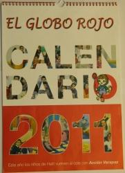 Entrega del Calendario Solidario 2011 a las familias que lo tienen reservado