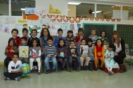 Los alumnos de 5 años, su profesora Loli Mateos y...