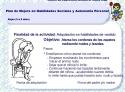 Programa de Habilidades Sociales y de Autonomía