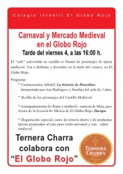 Mañana Viernes: Carnaval y Mercado Medieval en El Globo Rojo