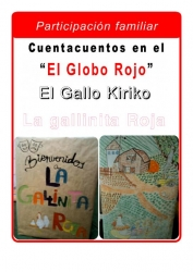 Mañana viernes: El Gallo Kiriko y La Gallinita Roja