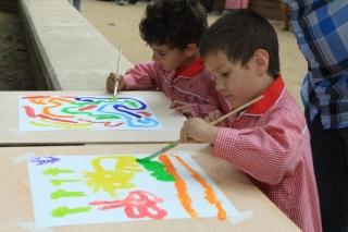 III Taller de Pintura alumnos-familias