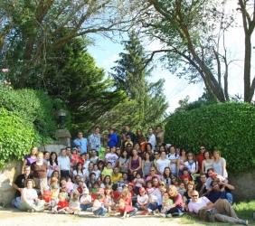 Fiesta campera para culminar la faena en la Semana de GloboFiesta´11