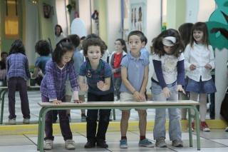 ¡A ESCENA! Los alumnos de 5 años suben al escenario