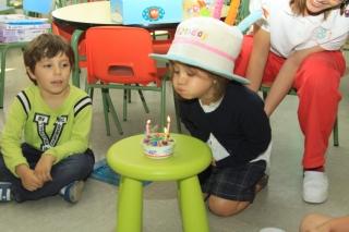 Celebrar cumpleaños en El Globo Rojo es una ocasión más de aprendizaje