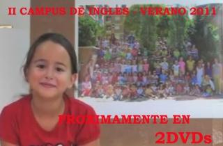 2 DVDs de cientos de imágenes y varios videos se entregarán a las familias del II Campus de Inglés - 2011 de El Globo Rojo