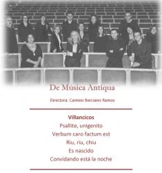 DE MVSICA ANTIQVA actuará para El Globo Rojo, en una jornada dedicada a la solidaridad