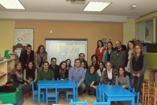 Las familias respaldan la educación de sus hijos en El Globo Rojo
