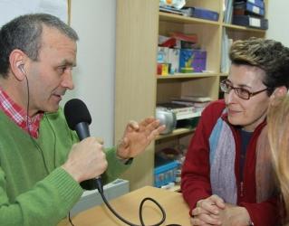Charo Ruano en Radio Espacio El Globo Rojo