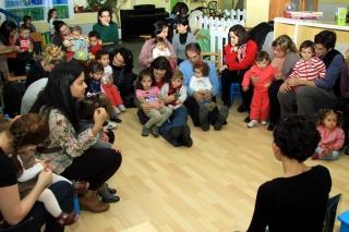 Encuentro de familias en el Programa Partir de Cero