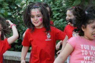 Show de maquillaje infantil con personajes de ensueño