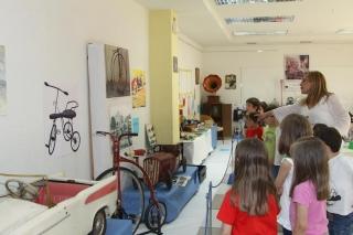 Visita didáctica a la exposición Viaje a los recuerdos del ayer