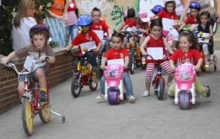 Alta competición sobre ruedas en El Globo Rojo