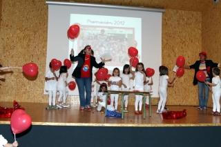 Fiesta de Graduación y gala de entrega de premios Globos Rojos