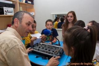 Dan comienzo los talleres de radio con el grupo de primaria