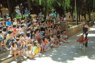 Segunda semana de Campus: cuentos con valores