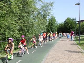 El Campus en el carril bici con ENERGÍA joven