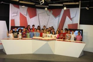 El plató de USALTV se abre al Campus de El Globo Rojo