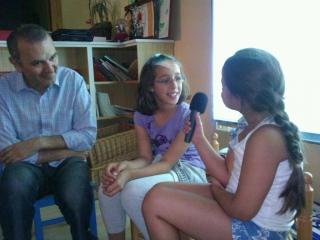 Talleres de Radio: los niños elaboran las noticias