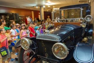 El Campus se acerca al museo de automoción: la magia de los coches antiguos