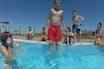 Cada día inglés y hoy además, juegos acuáticos