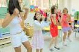 A las puertas del final del Campus: los niños graban un lip-dub