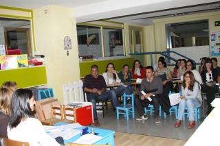 Reunión con los padres y madres del grupo de los Verdes Mayores