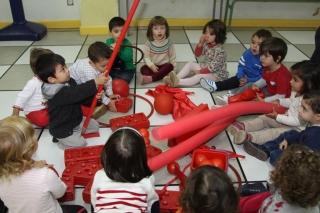 Juego creativo para estimular la inteligencia en edades tempranas