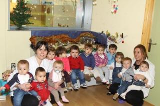 Los niños de El Globo Rojo van de Belenes