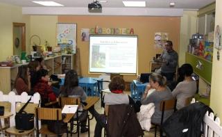 Acogedora respuesta de las familias en el encuentro de la Escuela `Dale la Mano´