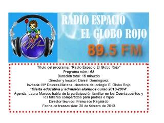 Oferta educativa de calidad en El Globo Rojo