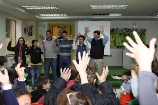 Un taller muy participativo en Lengua de Signos