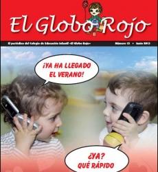 El periódico El Globo Rojo nº 15 llega al colegio con el verano