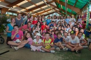 Fiesta homenaje al Huerto Ecológico del IV Campus de Inglés
