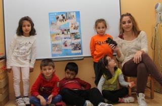 El Día de la Infancia lleva a los protagonistas, los niños, al micrófono