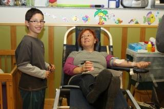 Donar sangre es regalar una parte de ti