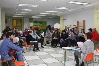 Semana intensa de reuniones de las profesoras con las familias
