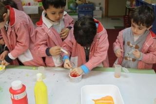 Las aulas de infantil también se convierten en Laboratorio de Experiencias