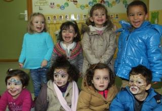 Martes de Carnaval: actividad de maquillaje facial
