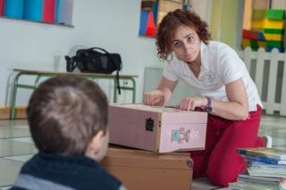 """Pilar, 11 años como maestra: """"intentamos educar para la vida"""""""
