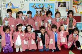 Homenaje al Libro en las aulas de El Globo Rojo