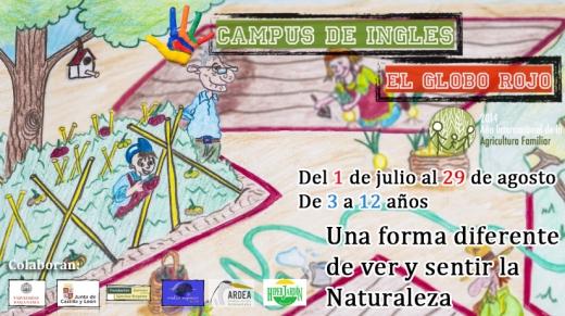 El V Campus de Inglés de El Globo Rojo abre su plazo de inscripción para niños de 3 a 12 años