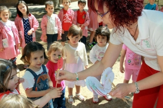 Los alumnos de El Globo Rojo recogen el testigo de cambio de nivel