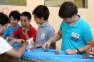 Los niños de Infantil derrochan creatividad con ell taller 'Soy un manitas'
