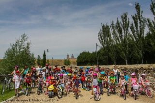IV edición de biciclismo del Campus de Inglés en el Carril Bici