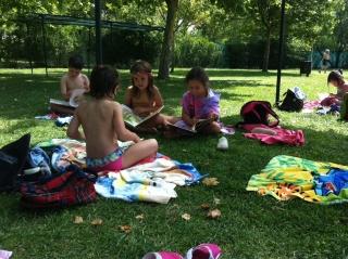 Baño, sol y...lecturas