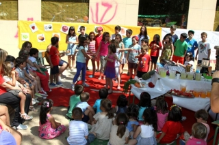 Musical infantil y cóctel de frutas para despedir el V Campus de Inglés en Julio